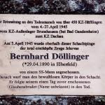 Gedenkstein Bernhard Döllinger