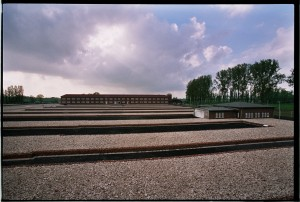 KZ Gedenkstätte Neuengamme Bearackenmarkierung