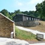rekonstruierte Baracke Mittelbau-Dora
