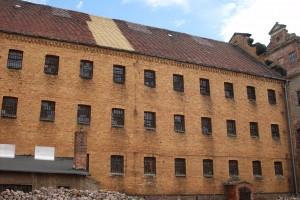 ehemaliger Zellbau des KZ Lichtenburg