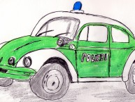 Polizeiauto 1930er Jahre