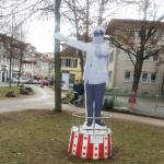 Heinz Ehrhardt Denkmal in Göttingen